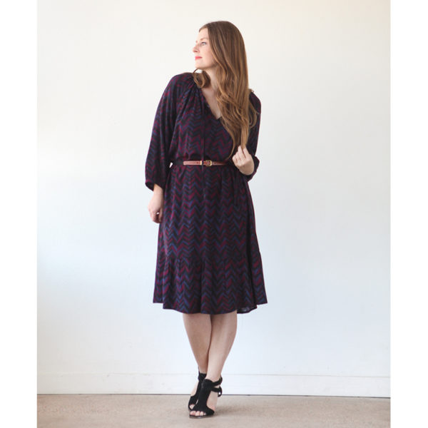 True Bias - Roscoe Blouse and Dress - on Maternity Sewing