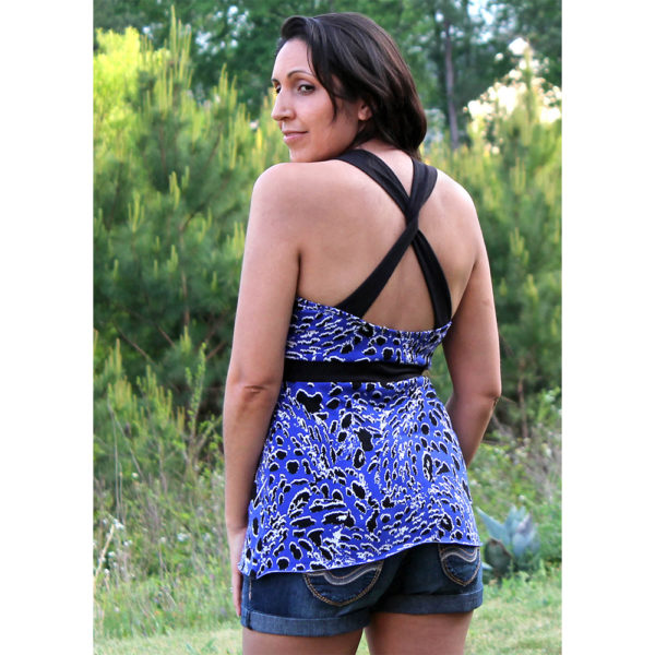 5oo4 - Journey Tank on MaternitySewing.com