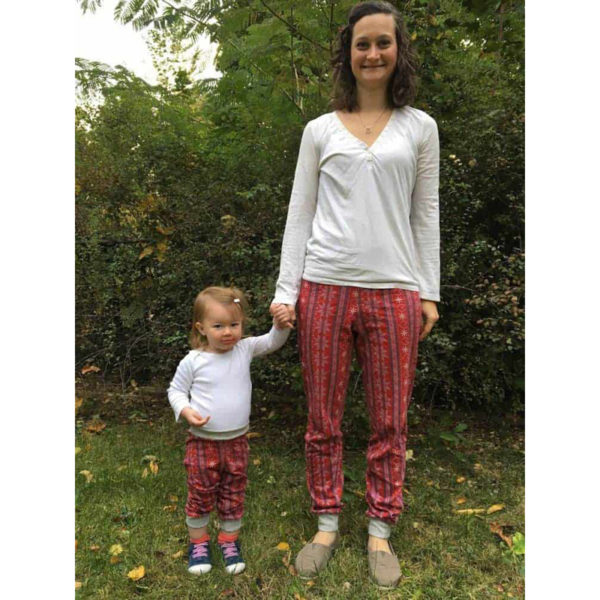 Arcadia Joggers - Stitch Upon a Time - on Maternity Sewing