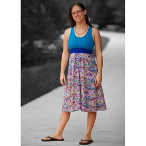 Brazi Bra & Dress - Stitch Upon a Time - on Maternity Sewing