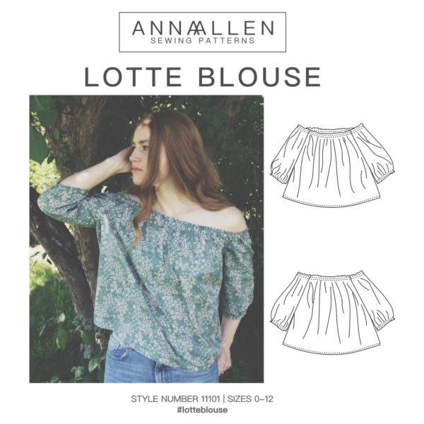 Anna Allen - Lotte Blouse