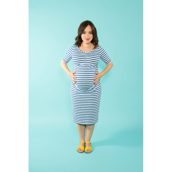 Tilly and the Buttons - Agnes Maternity Top and Dress - on Maternity Sewing