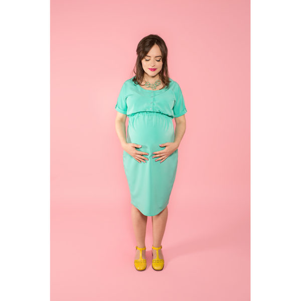 Tilly and the Buttons - Bettine Maternity Dress - on Maternity Sewing