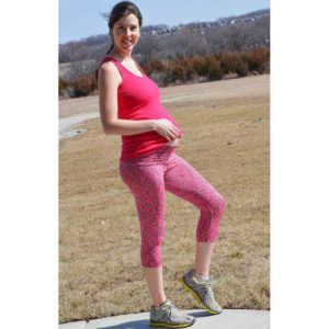 Ursula Leggings - Stitch Upon a Time - on Maternity Sewing