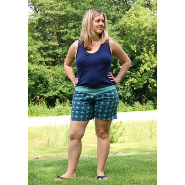 Willow Skirt & Shorts - Stitch Upon a Time - on Maternity Sewing