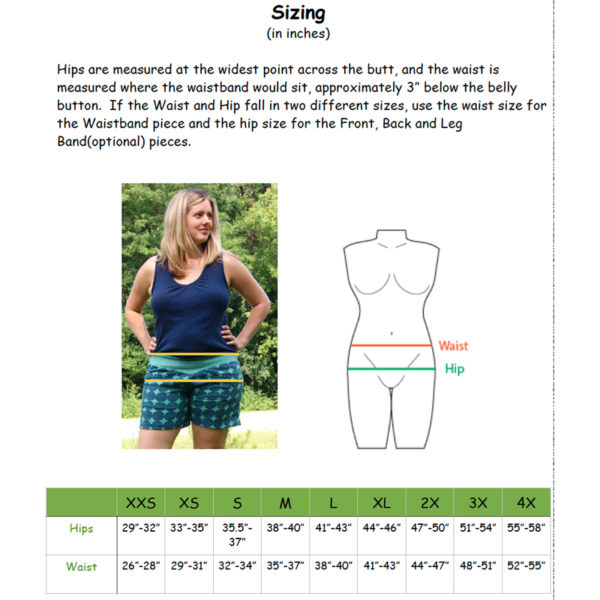 Willow Shorts - Stitch Upon a Time - on Maternity Sewing
