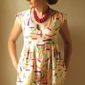 Made by Rae - Washi Dress on MaternitySewing.com