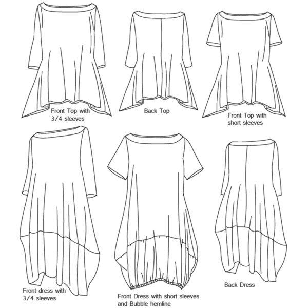 Willara - Boho Banjo - on Maternity Sewing
