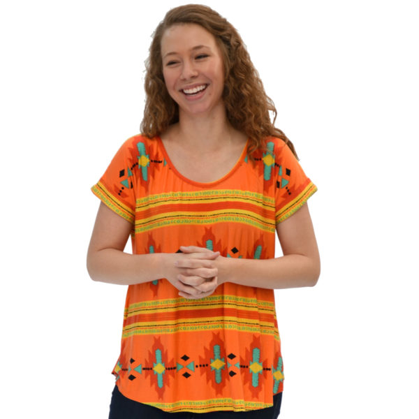 Santa Fe Top by Hey June on MaternitySewing.com