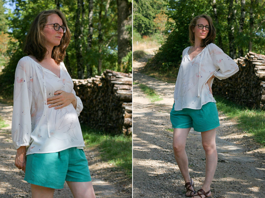 Maternity Style - Roscoe Blouse by True Bias