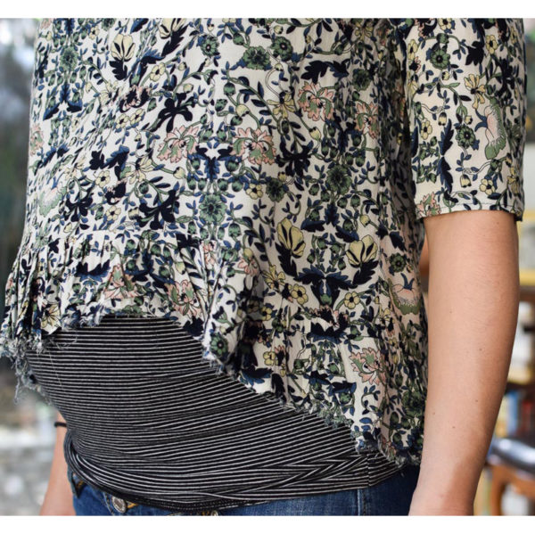 Franki Top by Wearable Studio on Maternity Sewing